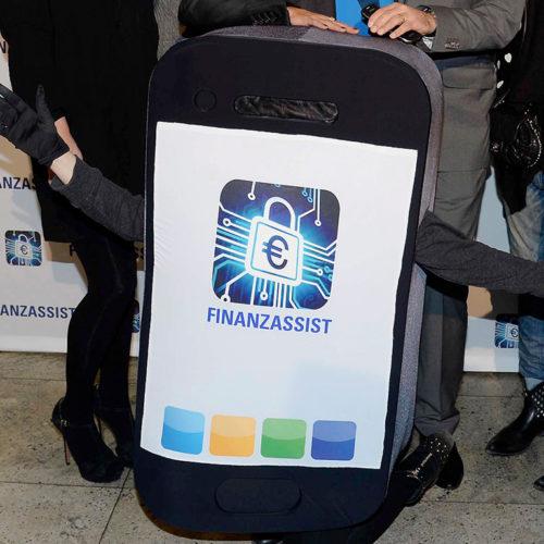 Launch der FinanzAssist App - Celebrity Booking by ALPHA POOL