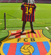 Maurice Lacroix goes FC Barcelona