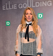 Launch Event mit Ellie Goulding in London