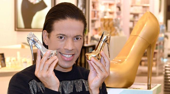 Dobner Kosmetik präsentiert Parfum mit und von Jorge Gonzalez