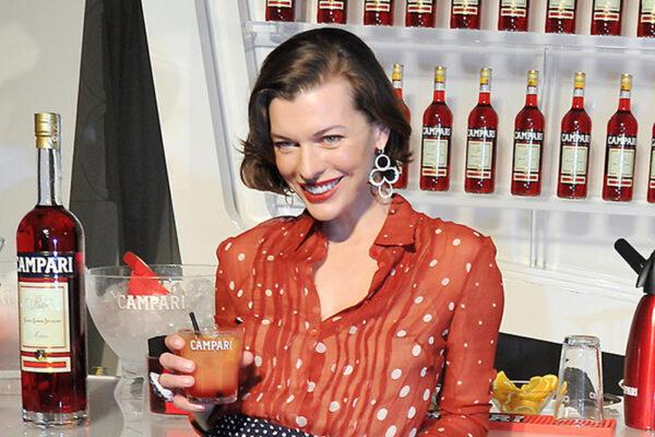 Milla Jovovich Campari ALPHA POOL