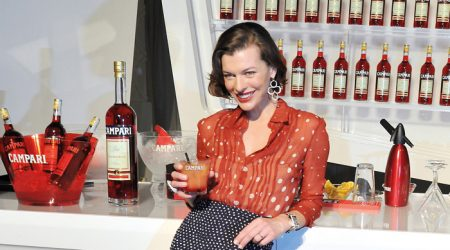 Milla Jovovich at the End of the World!