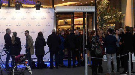JOOP! Flagship store opening in Düsseldorf