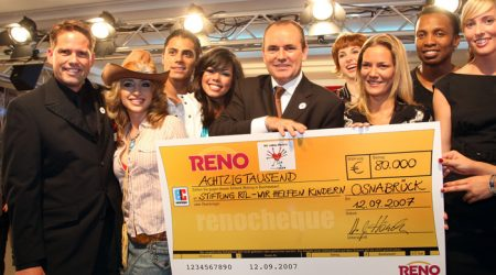 Reno Shoes goes charity