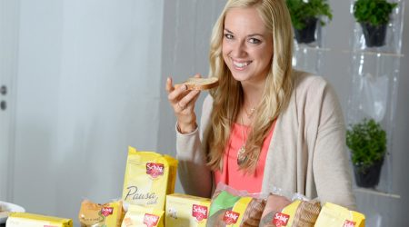 Sabine Lisicki is affected by gluten intolerance