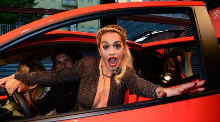 Rita Ora loves Toyota Aygo