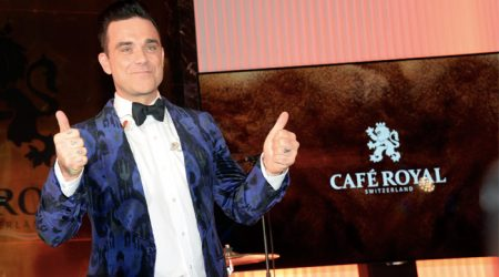 Robbie Williams for Café Royal