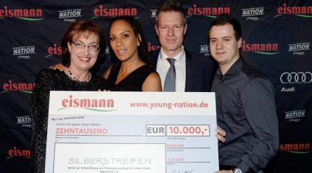 Spenden Event der Firma Eismann
